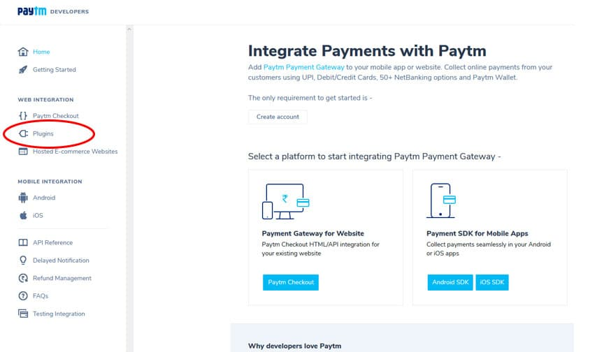 Integrate Payments with Paytm