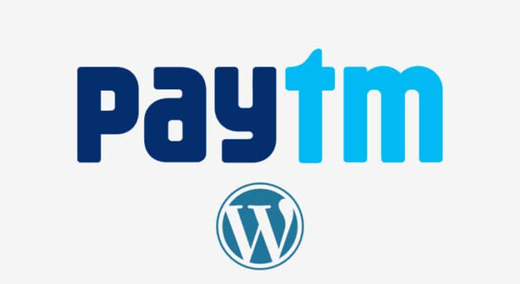 paytm wordpress